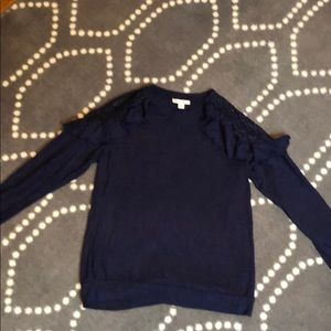 Navy blue Francesca's sweater
